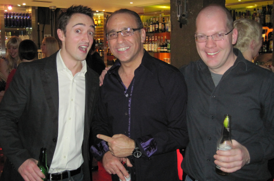 Ian Chamings, Theo Paphitis, Tom Hedley